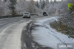 Трасса М5 Дорога Челябинск, снег, трасса м5