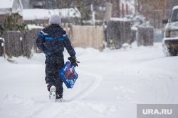 Деревяшки. Нижневартовск, зима, школьник, заморозки, метель, снегопад, мороз