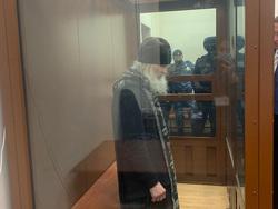 Романов Николай (отец Сергий) в Басманном районном суде. Москва