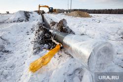 Прокладка нового газопровода высокого давления. Газпром газораспределение Екатеринбург, газопровод, прокладка газопровода, монтаж газопровода