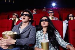 Клипарт depositphotos.com. , кинотеатр, попкорн, кинозал, кинематограф, 3d, imax