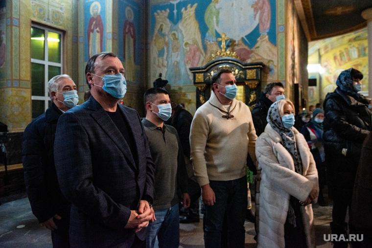 Ночное Рождественское богослужение в Свято-Троицком кафедральном соборе. Екатеринбург