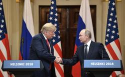 Клипарт. Сток Сайт президента России, путин владимир, трамп дональд