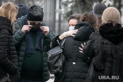 Прощание с Геннадием Бухтиным на Троекуровском кладбище. Москва, комарова наталья
