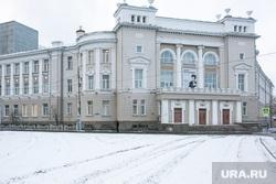 Снежный город. Тюмень, снег, зима, тиу, тюменский индустриальный университет