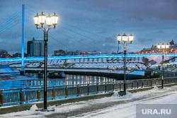 Снежный город. Тюмень, набережная, набережная туры, ноябрь, река тура, река, тюмень, виды тюмени