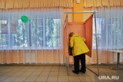 Выборы депутатов Курганской областной  думы седьмого  созыва. Курган , избирателный участок, единый день голосования, триколор, голосование, пенсинерка, выборы 2020, выборы в облдуму