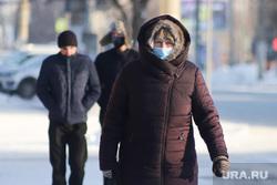 Мороз. Курган, снег, холод, зима, мороз, масочный режим, пандемия коронавируса