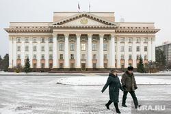 Снежный город. Тюмень, снег, зима, правительство тюменской области, тюмень, виды тюмени