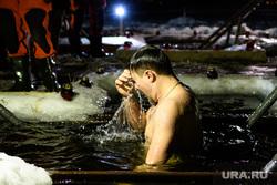 Ночные купания в иордани на Верх-Исетском пруду. Екатеринбург, крестится, крещение господне