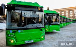 Презентация новых автобусов на газомоторном топливе. Челябинск, автобусы, городской транспорт