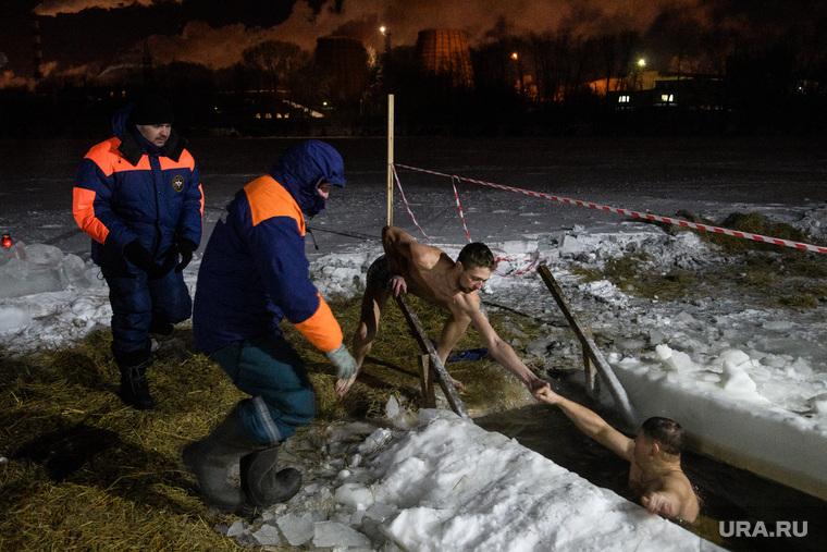 Крещенские купания. Екатеринбург
