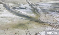 Фоторепортаж с мест подтопления во время паводка. Курган., снег, дома, река тобол, потоп, весна, лед