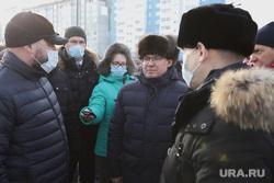 Полпред Якушев Владимир посетил проспект Мальцева. Курган, шумков вадим, якушев владимир, кочеров андрей