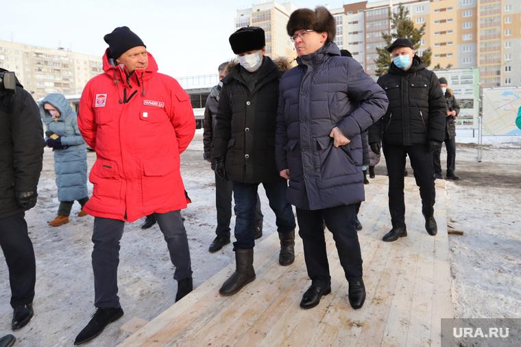 Полпред Якушев Владимир посетил проспект Мальцева. Курган