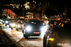 Пробки в Екатеринбурге, пробки, вечер