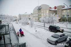 Виды Салехарда, арктика, город салехард, улица республики, школа1