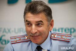 Пресс-конференция начальника ГИБДД Юрия Демина. Екатеринбург