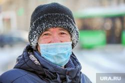 Мороз и люди. Челябинск, холод, зима, иней, пар, погода, человек, мужчина, климат, мороз, метеоусловия, маска защитная, замерзший человек