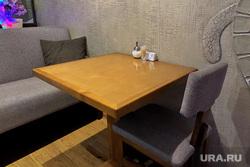Детская игровая комната. Курган, столик в кафе, столик в ресторане, закрытие, пустой стол
