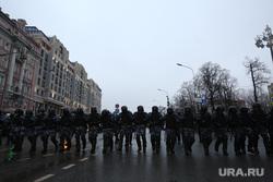 Несанкционированный митинг оппозиции. Москва, силовики, митинг, полиция, протест, несанкционированная акция, навальнинг, омон
