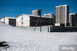 Микрорайон академический. Екатеринбург, микрорайон академический, строящаяся администрация микрорайона академический