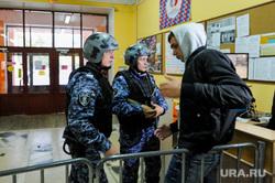 Тренировка сотрудников Росгвардии на территории гимназии. Челябинск, гимназия, арест, захват, террорист, школа, заложник, росгвардия, вневедомственная охрана, вежливые люди, задержание, лицей