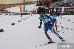 Эстафета Олимпийского огня в Ханты-Мансийске, лыжники, тренировка биатлонистов, биатлон