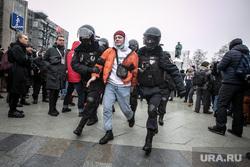 Несанкционированный митинг оппозиции. Москва, шествие, митинг, полиция, протест, несанкционированная акция, навальнинг, задержания