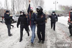 Несанкционированная акция в поддержку оппозиционера. Екатеринбург