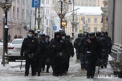 Несанкционированная акция в поддержку оппозиционера. Москва, силовики, протестующие, митинг, росгвардия, протест, навальнинг, омон