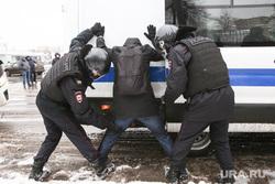 Несанкционированная акция в поддержку оппозиционера. Москва, силовики, протестующие, митинг, росгвардия, протест, навальнинг, винтилово, омон, хапун, задержание актививстов