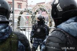Несанкционированная акция в поддержку оппозиционера. Москва, силовики, протестующие, митинг, протест, навальнинг, омон
