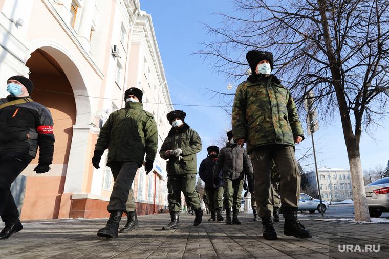 Несанкционированная акция в поддержку Алексея Навального. Курган