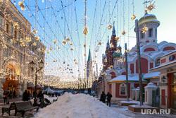 Снег и коммунисты в Москве. Москва, сугроб, снег, зима, город москва, вечер, последствия снегопада, улица никольская, собор казанской божией матери