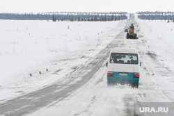 День оленевода в селе Аксарка, ЯНАО, зима, арктика, трасса