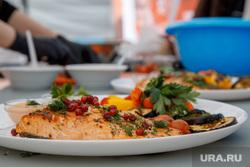 VIII Международный фестиваль барбекю в Екатеринбурге., рыба, еда