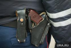 Профилактический рейд ГИБДД. Магнитогорск, пистолет, оружие, кобура, сотрудник дпс, полицейский