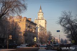 Виды Перми, зима 2020 г. Пермь., гу мвд по пермскому краю, полиция, пермь, гу мвд, башня  смерти