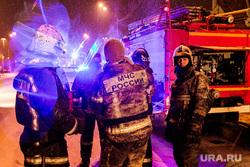 Пожар на Московской. Тюмень