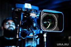 Телестудия РМК в БЦ Высоцкий. Екатеринбург, камера, видеокамера, студия, съемка, телевидение, телестудия, шоу