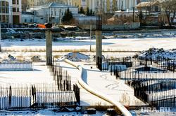 Конгресс-холл Крылья, замороженная стройка к ШОС. Челябинск, труба, недострой, шос, конгресс-холл около цирка