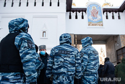 Штурм Среднеуральского женского монастыря. Екатеринбург, среднеуральский женский монастырь, омон