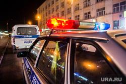 Авария на Карла Либкнехта-Ленина. Екатеринбург, патрульная машина, дтп, полиция, проблесковый маячок