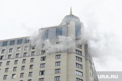 Пожар в офисном здании на Белинского. Екатеринбург