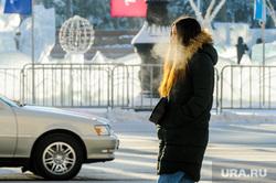 Мороз и люди. Челябинск, девушка, холод, зима, иней, пар, погода, человек, климат, мороз, метеоусловия, замерзший человек