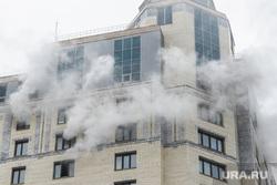 Пожар в офисном здании на Белинского. Екатеринбург, дым, пожар, высотное здание, улица белинского83