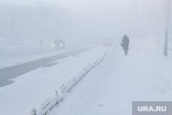 Мороз и ледяной туман. Салехард. 31 января 2019 г, зима, арктика, мороз, туман