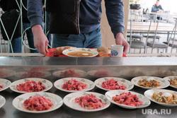 Столовая в промышленном техникуме. Курган, салат, столовая, еда, школьная столовая, питание, школьное питание