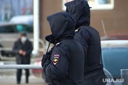 Прощание с бывшим первым замгубернатора Бухтояровым Александром. Курган, полиция, наряд полиции
